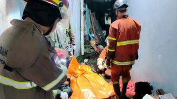 Rumah Terbakar di Depok, Seorang Wanita Tewas Terjebak di Kamar